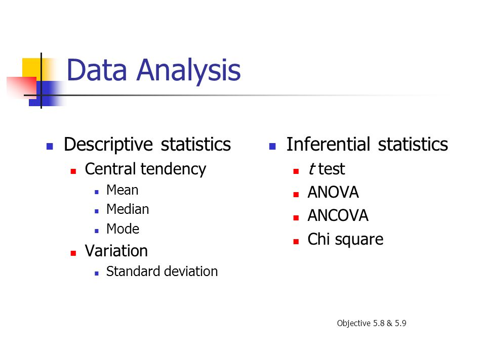 descriptive data analysis You can use the excel analysis toolpak add-in to generate descriptive statistics for example, you may have the scores of 14 participants for a test.