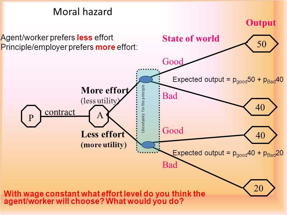 Uncertainty for the principle