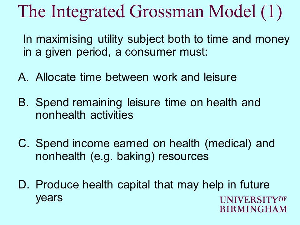 The Integrated Grossman Model (1)