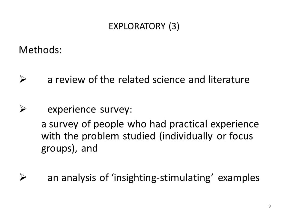 literature survey examples