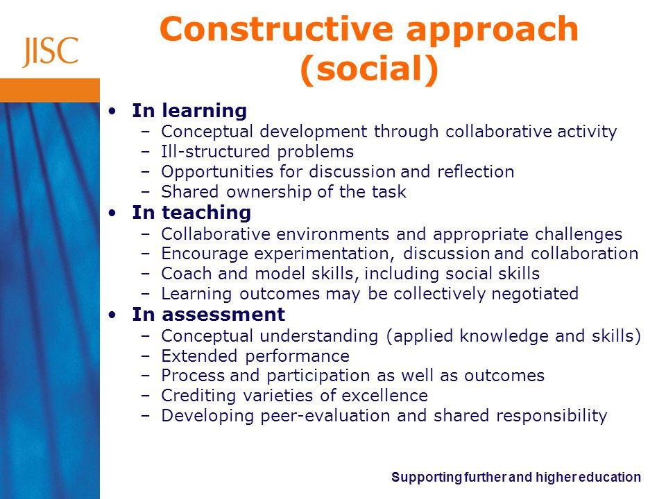 Constructive approach (social)
