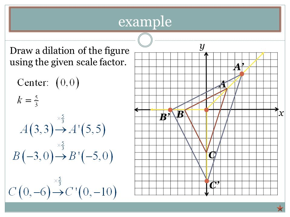 Drawing Lines Using Html : Dilation scale factor worksheet of a