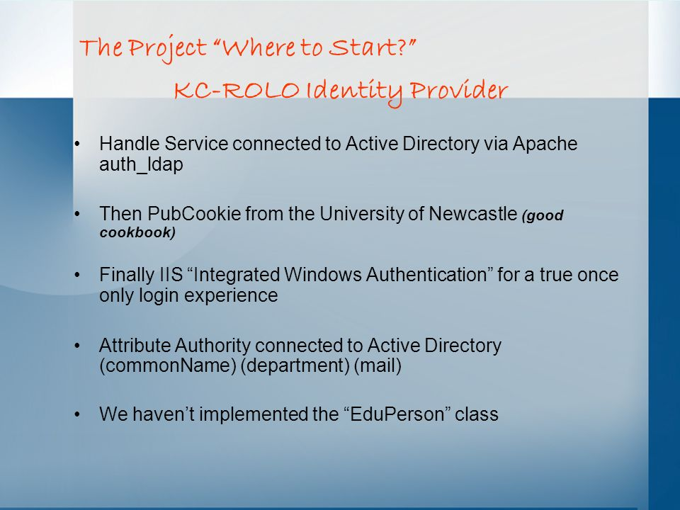 KC-ROLO Identity Provider