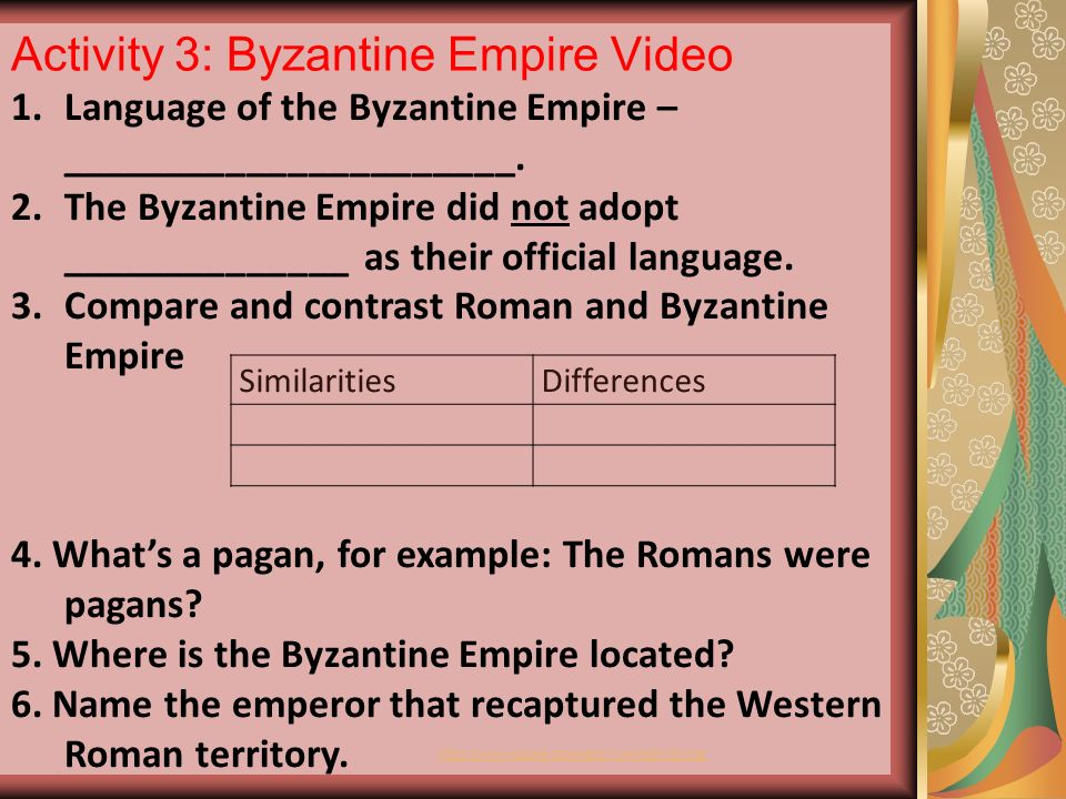 Difference Between Byzantine and Roman Catholic