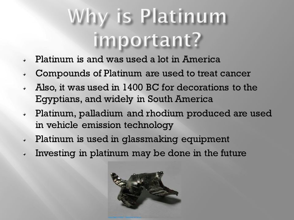 What is Platinum? Mandisa Keswa. - ppt video online download