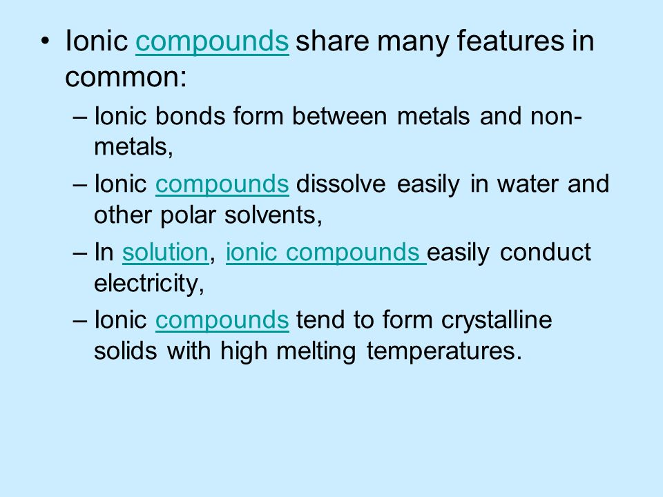 the division of the positive and negative ions after ionic solids dissolve Chem ion states question when ionic solids dissolve in water, they produce soluble aqueous cations and anions for example, adding solids mgbr2 to water will produce ions according to the dissolution reaction below.