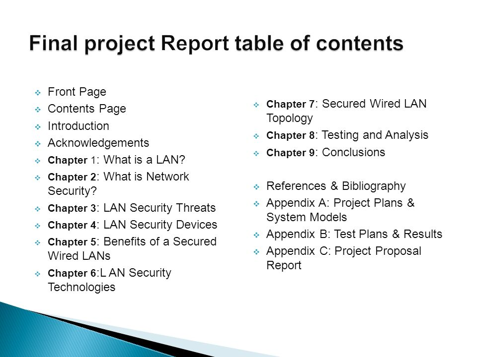 final project report on chapter six Importance of project schedules ▫ managers often cite delivering projects on  time as one of their biggest challenges ▫ chaos report of 2009 (by the.