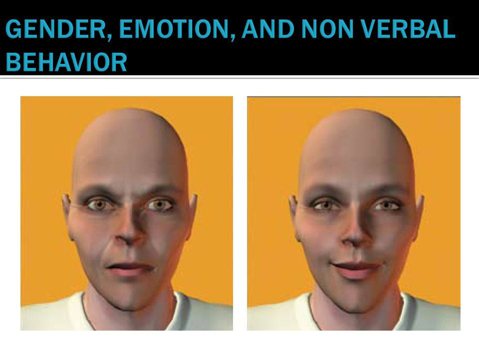 gender and emotions different gender shows different emotional behavior essay This essay will focus on the gender difference in suicide rates – across the world,   of help-seeking behaviour, and research shows that men are more likely to   an emotional problem or uncontrolled expression of emotion (emslie, ridge,.