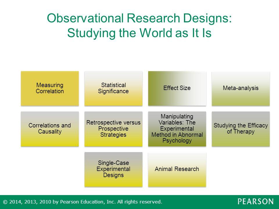 Correlational prospective study