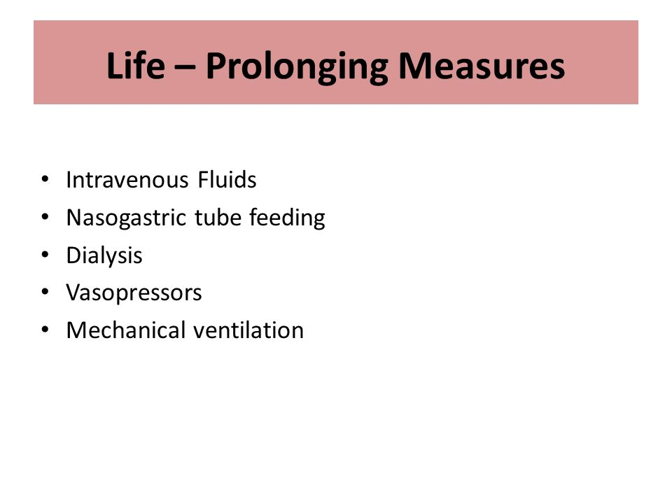 end of life critical care guidelines