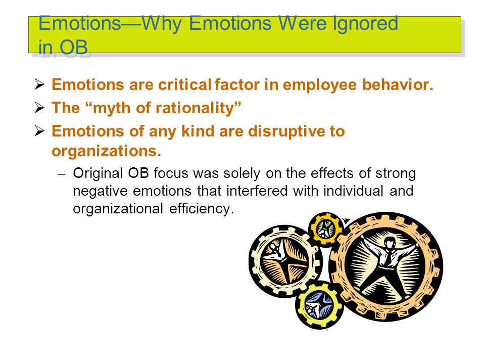 Affect A broad range of emotions that people experience