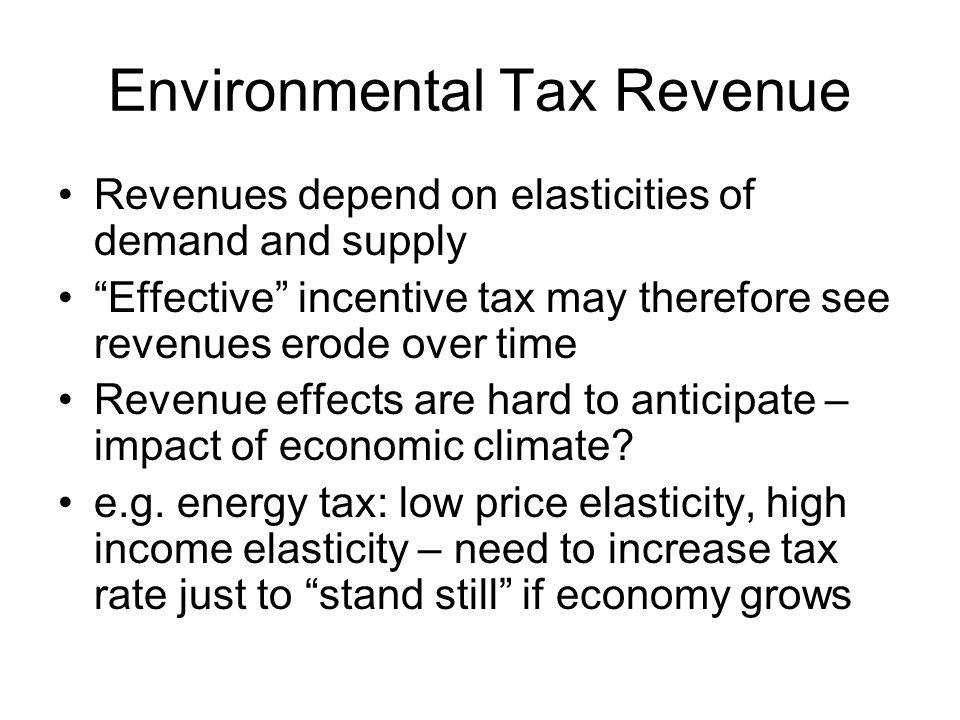 Environmental Tax Revenue