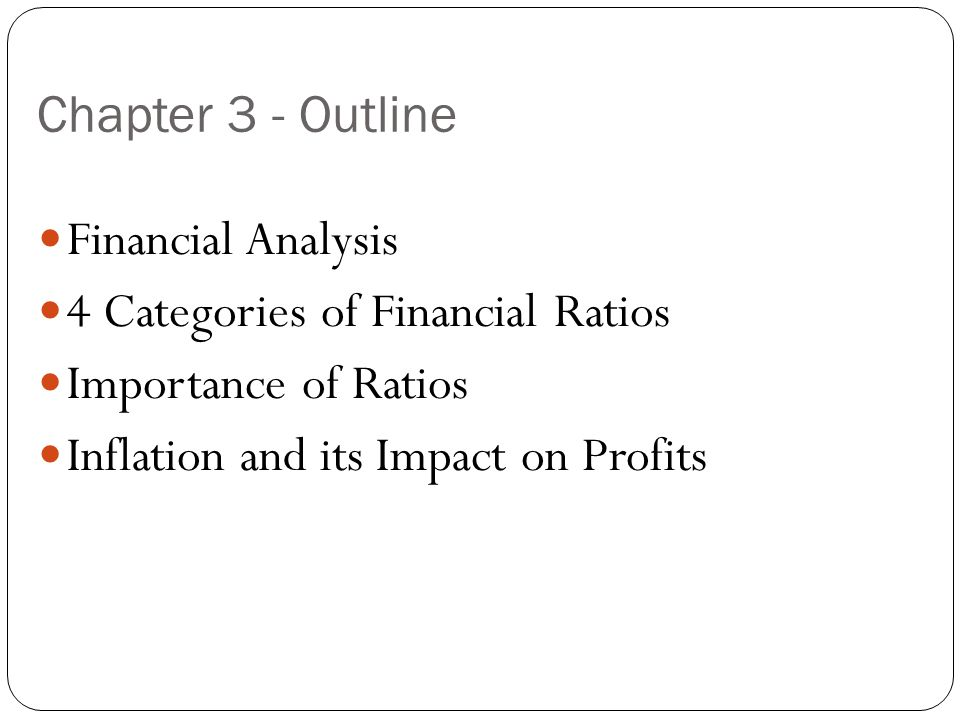 Chapter 3 Financial Analysis. - Ppt Video Online Download