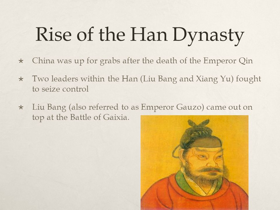 the rise and fall of the han dynasty From 206 bc to ad 221, the han dynasty saw advancements in technology, philosophy and trade however, internal and external influences caused the collapse of the.