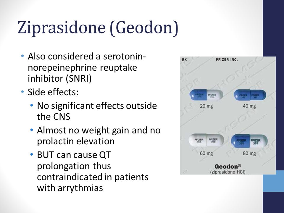 Can Geodon Overdose Kill