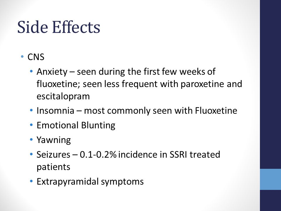 Is Fluoxetine For Anxiety