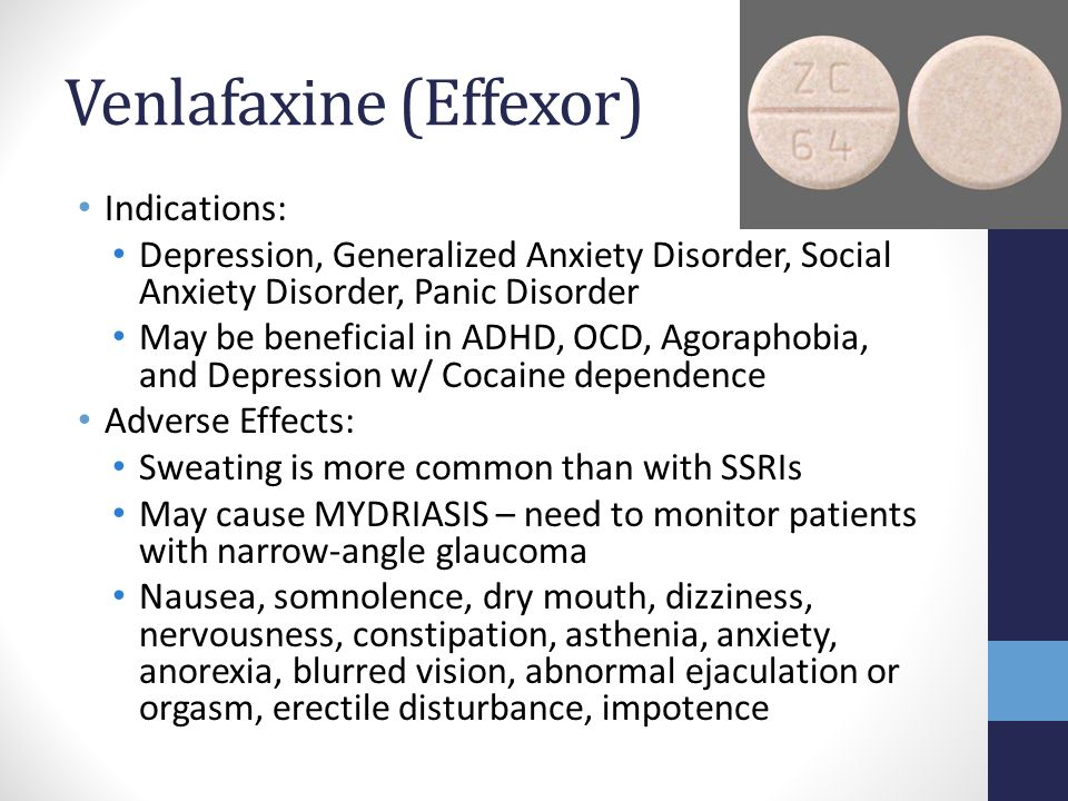 Effexor Reviews For Social Anxiety