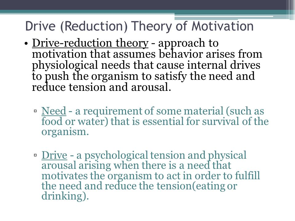 four drive theory of motivation pdf