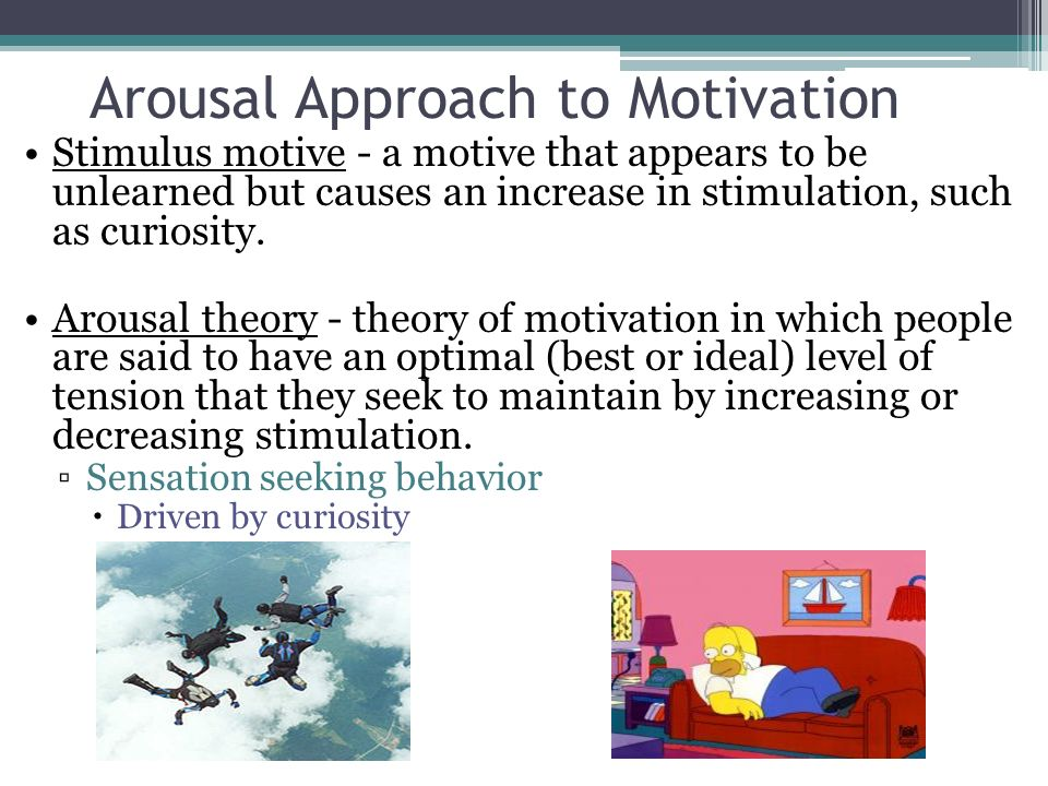 motivation arousal This is the first part of a revision booklet i am producing for year 10 and 11's completing the gcse pe course this first section covers the topic.