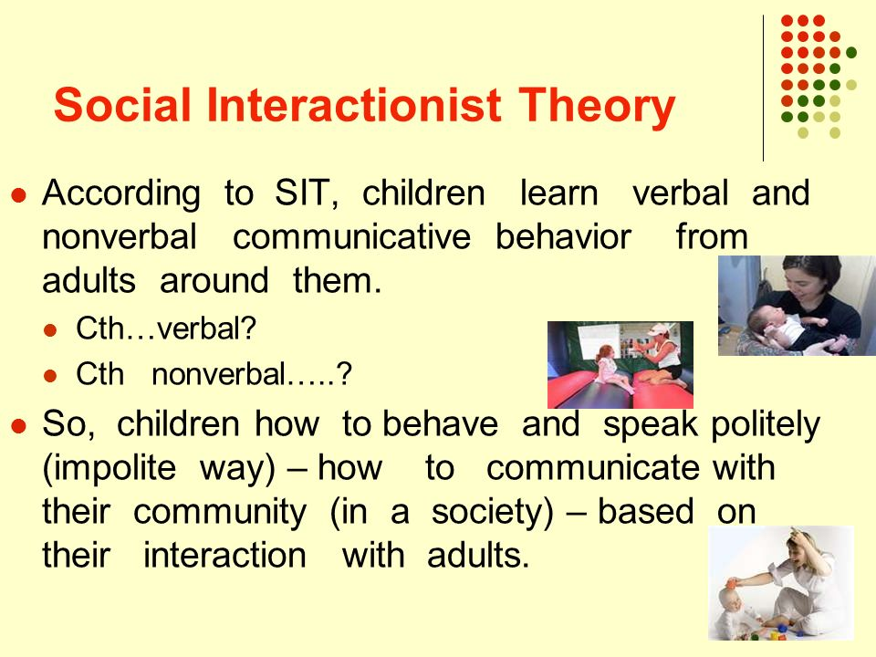 social interactionist theory Brief from a symbolic interactionist perspective, gender is produced and reinforced through daily interactions and the use of symbols full text.