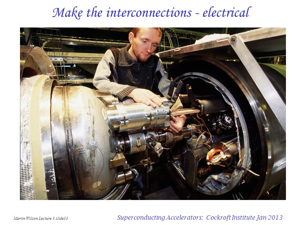 Make the interconnections - electrical