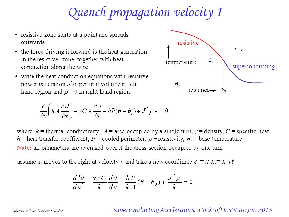 Quench propagation velocity 1
