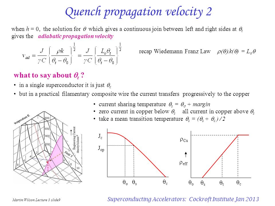 Quench propagation velocity 2