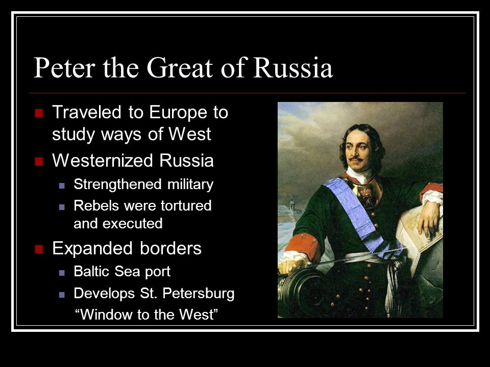 peter the great and catherine relationship with nobles