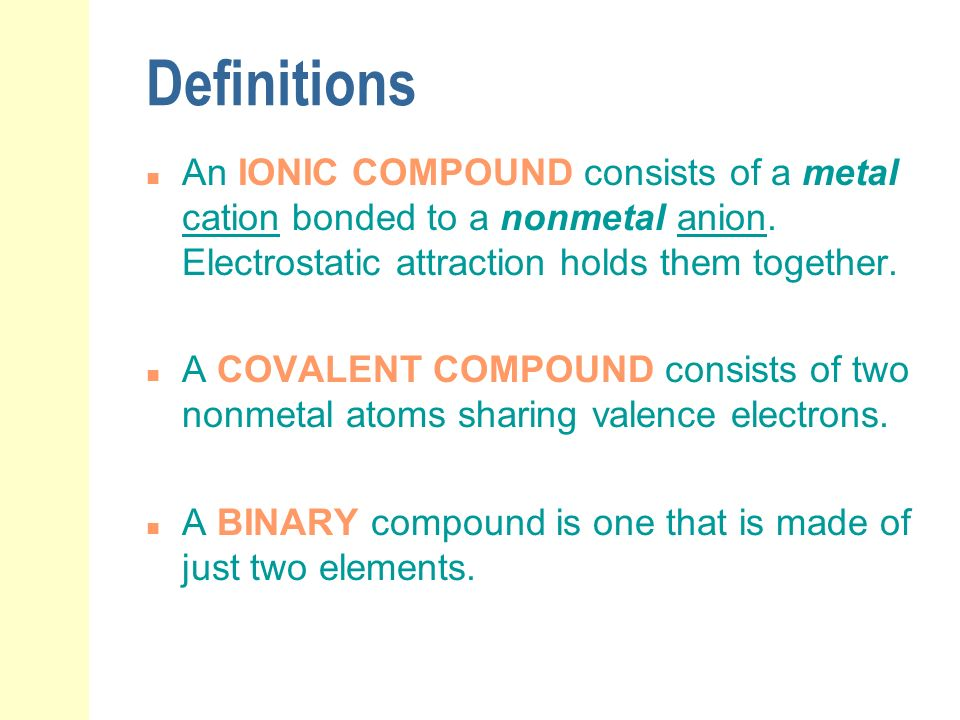 chemical nomenclature ppt download