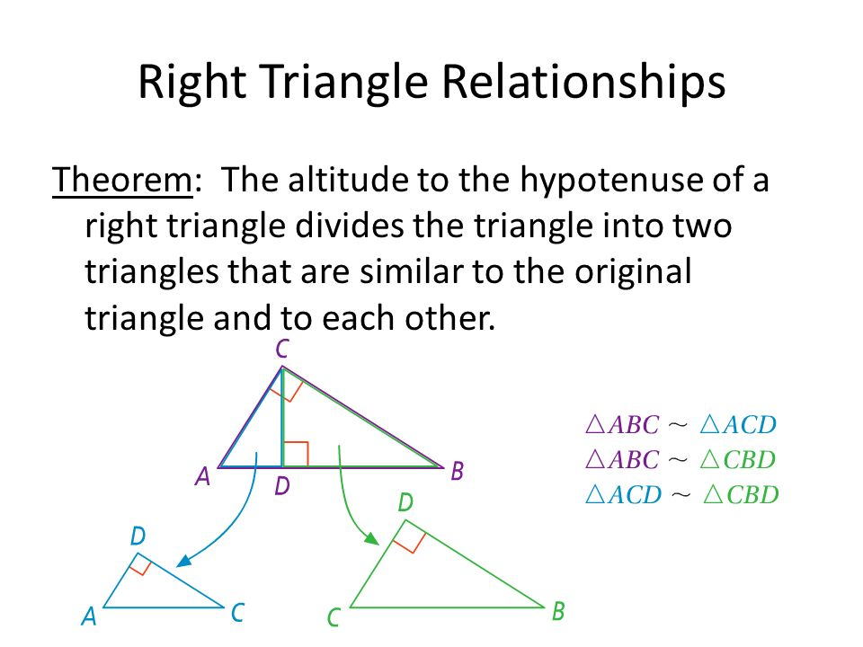 how to find the hypotenuse of a triangle