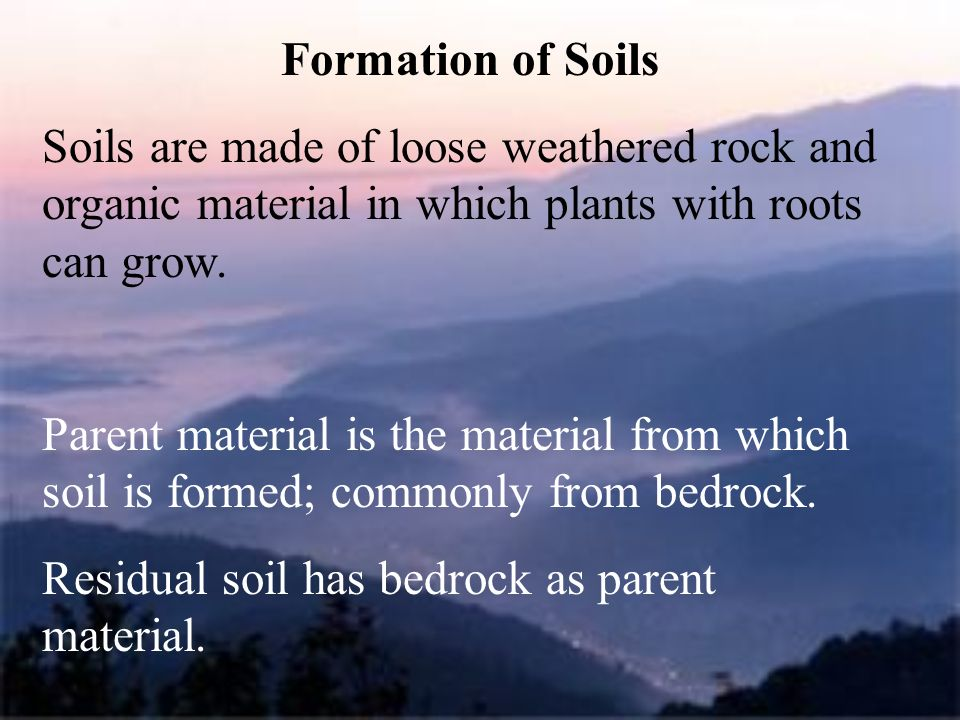Chapter 7 weathering and soils ppt video online download for Soil is made of