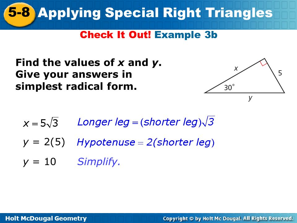Geometry similar right triangles worksheet answers
