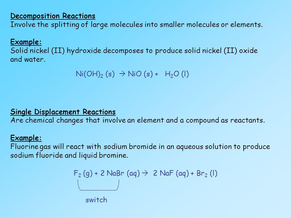 UNIT 1 Chemical Reactions Part I (Text: p ) - ppt download