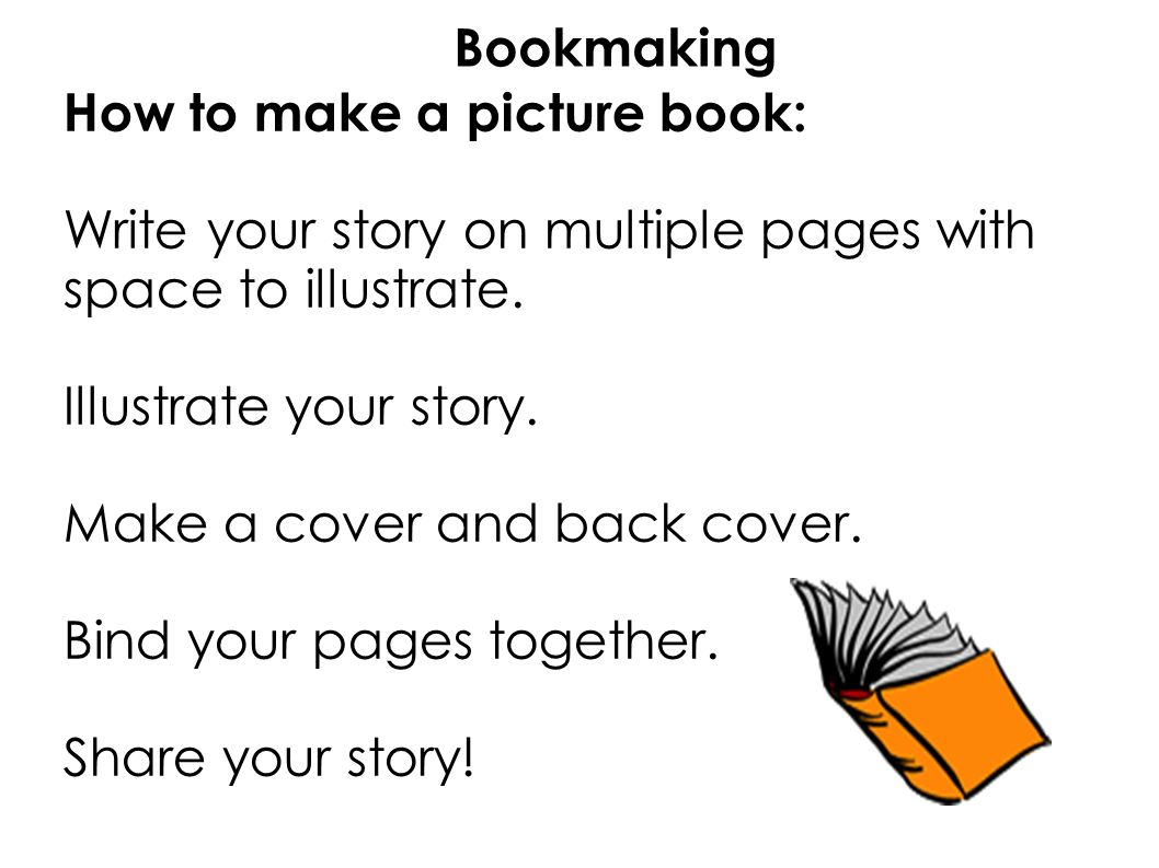 How To Make A Book Cover Using Powerpoint : Lesson bookmaking expectations listen carefully