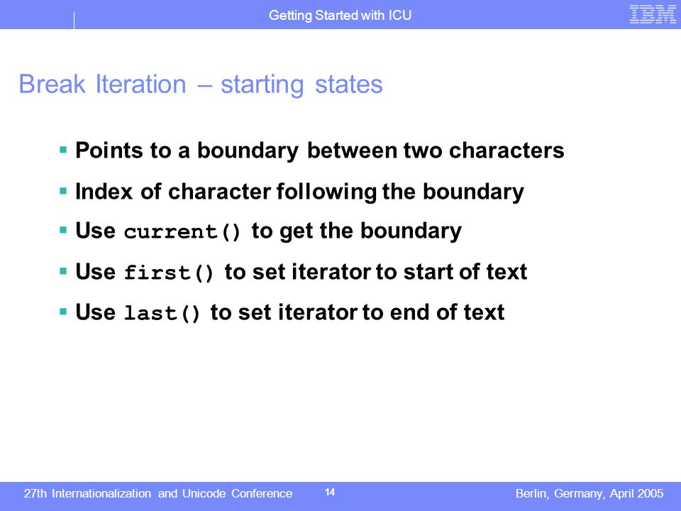 getting started with icu   ppt download