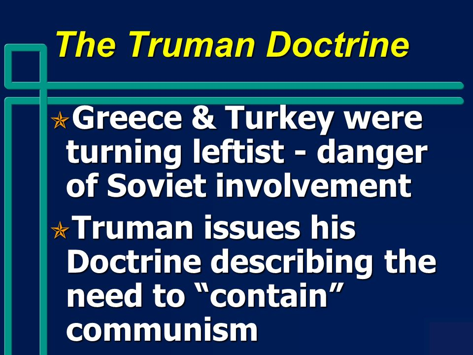 the debates on the impact of the truman doctrine Study guide and teaching aid for the truman doctrine featuring document text, summary, and expert commentary.