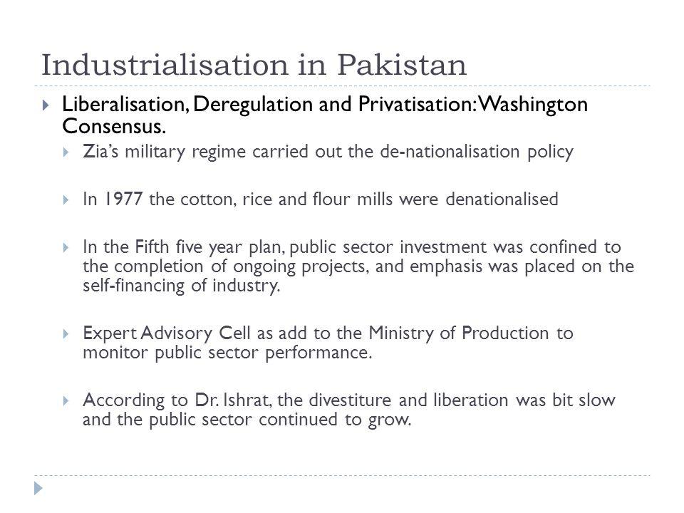 Industrialisation in Pakistan