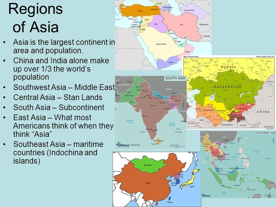 regions in india