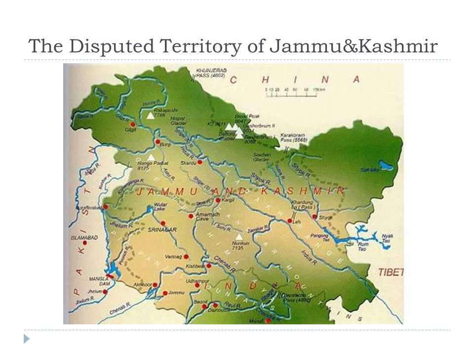 List of disputed territories of India - Wikipedia