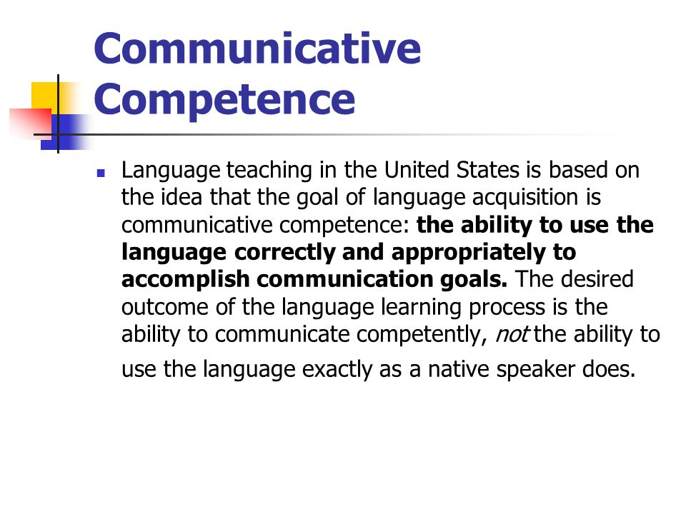 competence and performance in language teaching 1 competence and performance in language teaching jack c richards adjunct professor, regional language centre, singapore introduction what is it that language teachers need to know and do to be effective.
