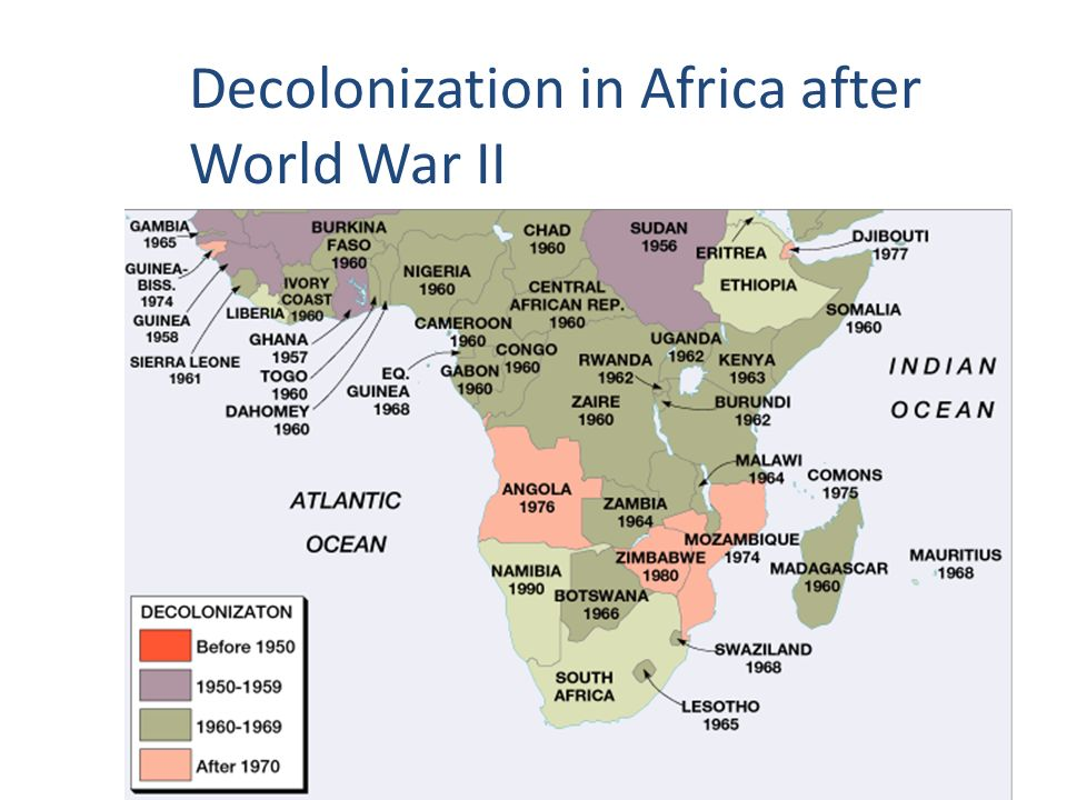 the decolonisation of africa 1959 1964 Kent, john (2013) the us and decolonisation in central africa: 1957-1964 in: butler, larry and stockwell, sarah, (eds)the wind of.