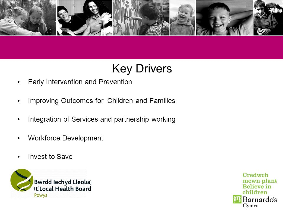 Key Drivers Early Intervention and Prevention