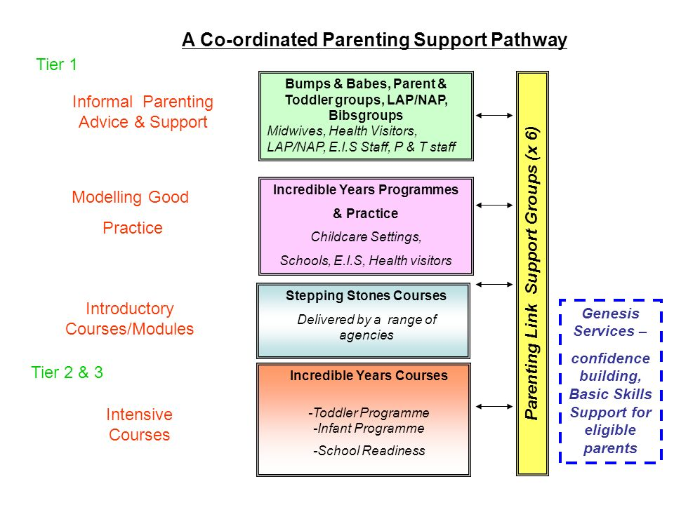 A Co-ordinated Parenting Support Pathway