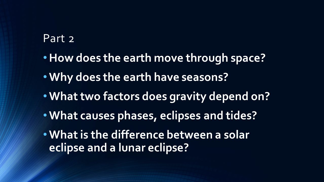 How Fast Does Earth Move?