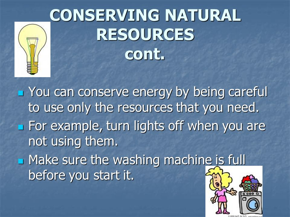 How Can We Conserve Natural Resources By Recycling