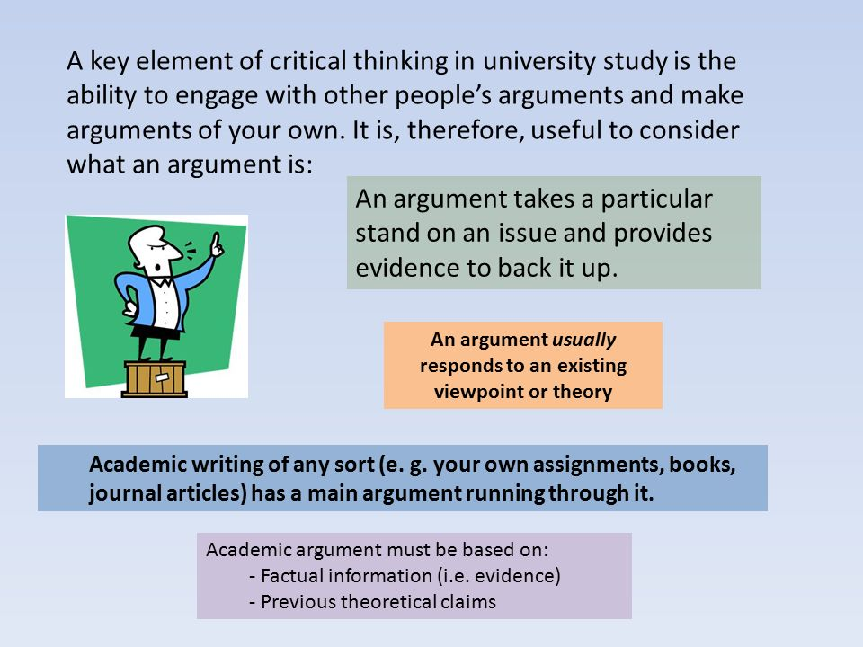 Critical Thinking Essay Topics Examples