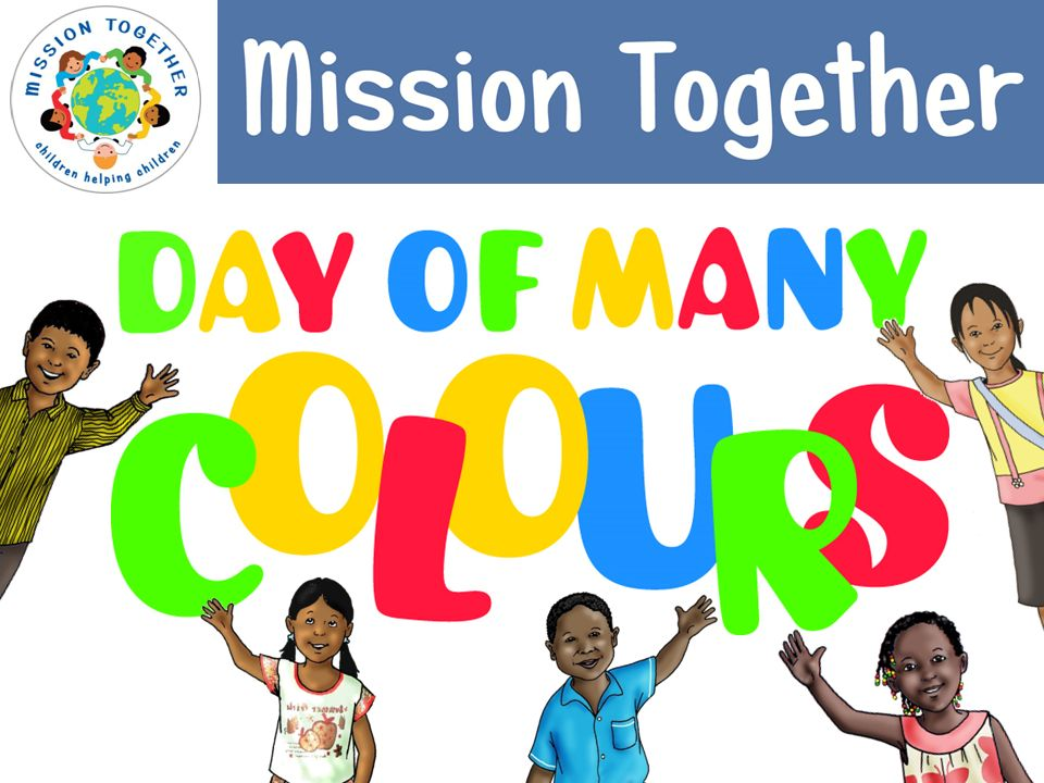 Welcome to your Day of Many Colours!