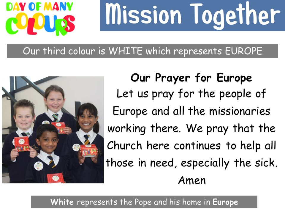 Our Prayer for Europe