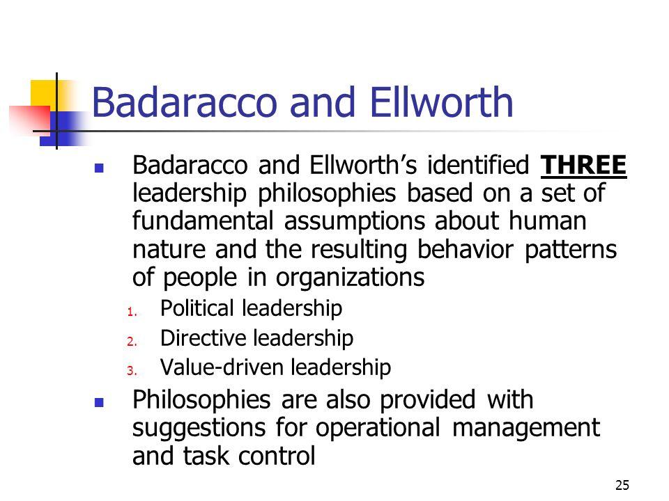 Badaracco and Ellworth