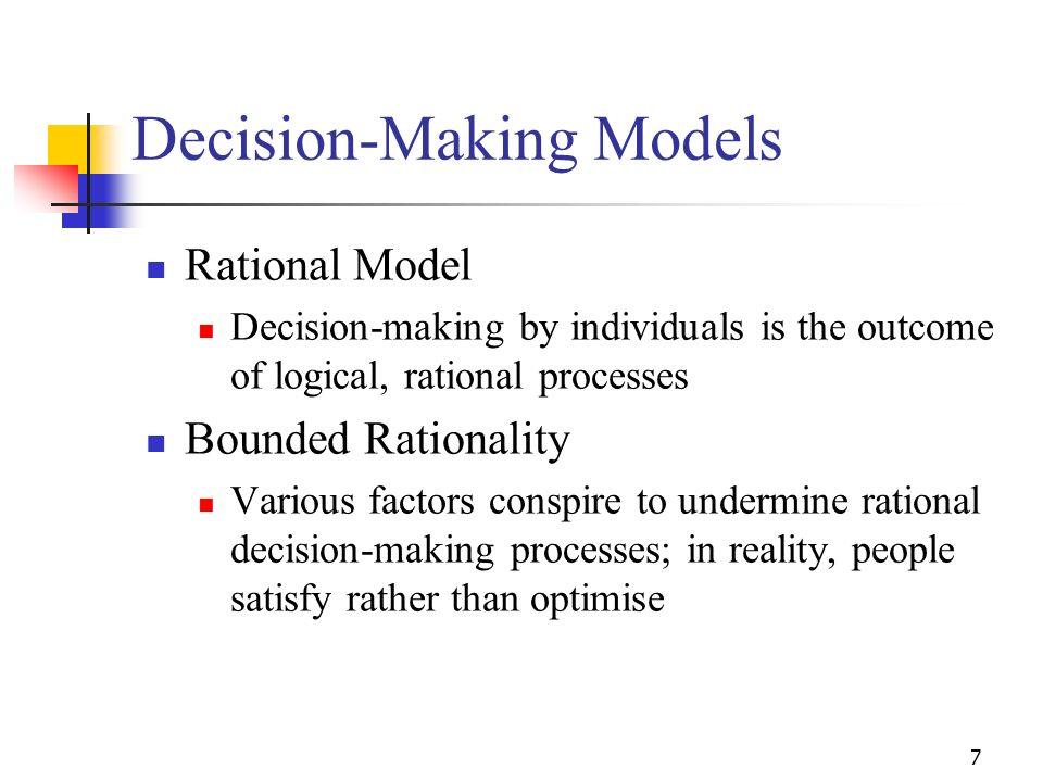 Decision-Making Models